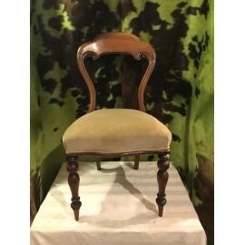 Stuhl Barock gepolstert