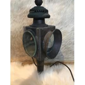 alte Kutscherlampe