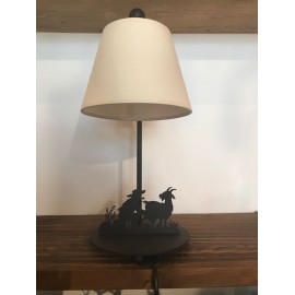 Tischlampe Ziegenpeter